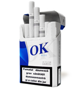 OK Blue Cigarettes 10 cartons